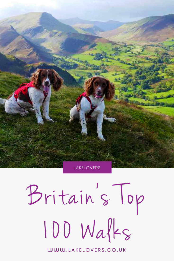 ITV'S BRITAIN'S FAVOURITE WALKS: TOP 100 Listed | Lake ...