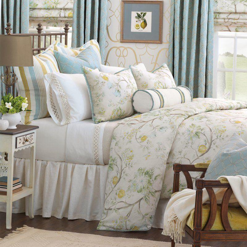 Magnolia Reversible Duvet Cover Set Luxury bedding