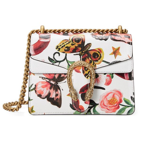 Gucci Garden Exclusive Dionysus Shoulder Bag (172.195 RUB) ❤ liked on  Polyvore featuring bags ad32e40a10f8