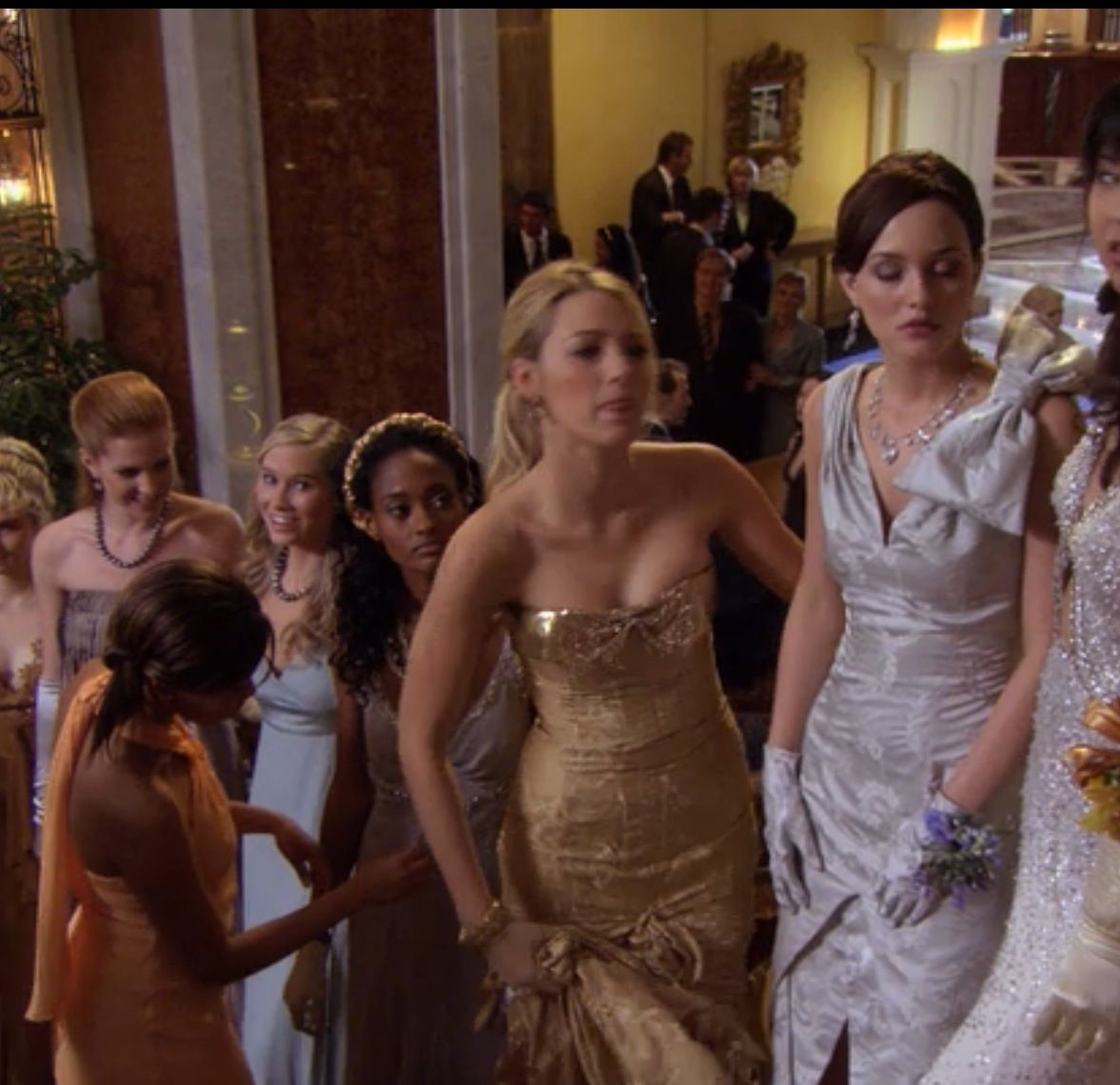 Serena and Blair Gossip Girl cotillion dresses | Gossip Girl ...