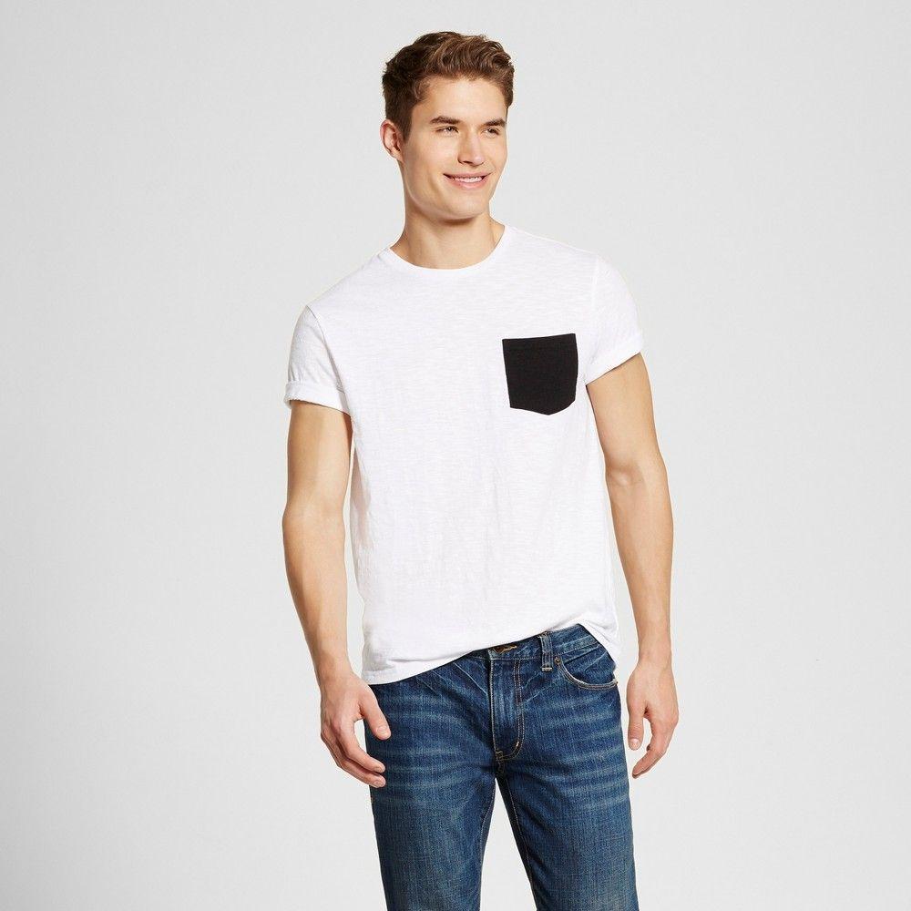 e7263291 Men's Crew Neck T-Shirt White XL - Mossimo Supply Co., Fresh White ...