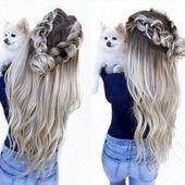 301 Sexyweddingdresse … – einfache Frisuren gekräuselt #Easyhairstyles #curled #E …