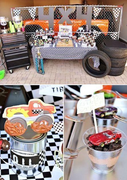 Photo of Beste Monster Truck Geburtstagsfeier Ideen Kuchen Dessert Tische 62+ Ideen   – T…