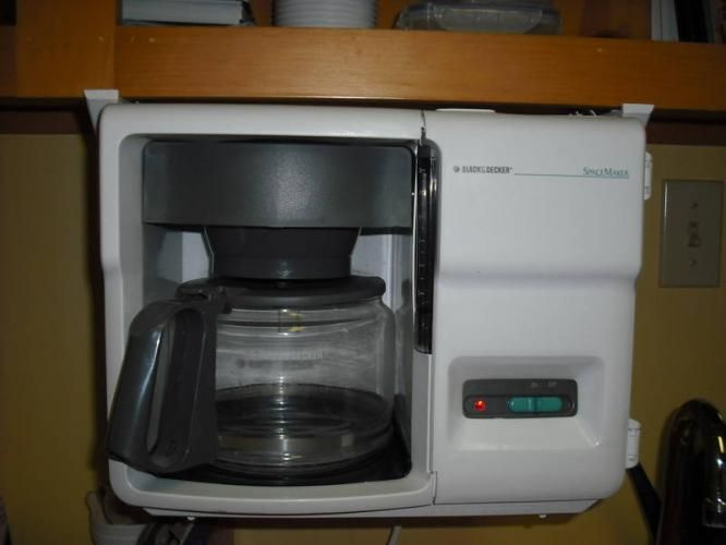 Under Counter Coffee Maker | Black Decker Spacemaker Under Cabinet Coffee  Maker ODC300 12 Cup | Space Saver Coffee Maker | Pinterest | Coffee Maker,  ...