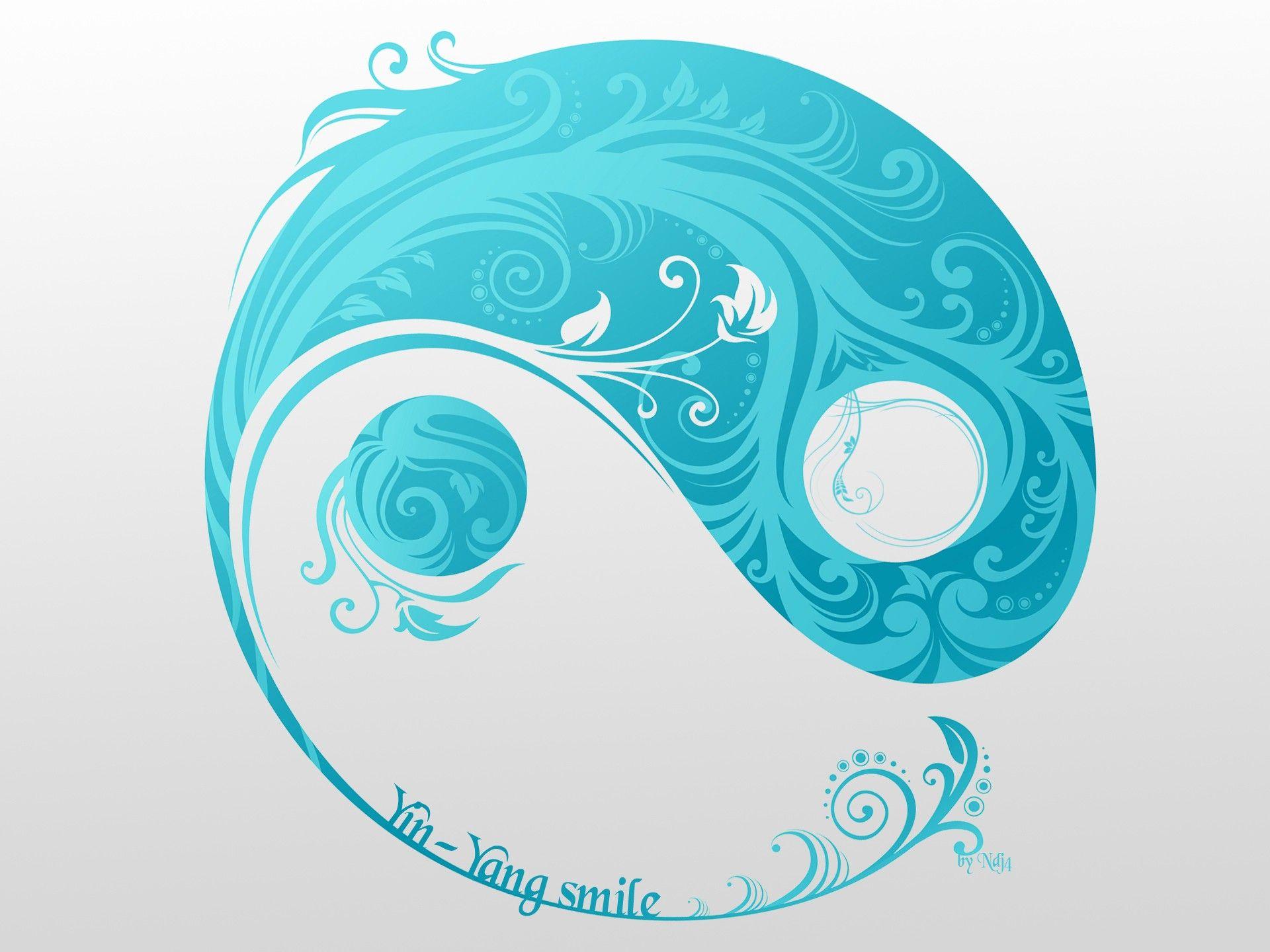 Yin Yang Wallpaper Yin and Yang Smile widescreen