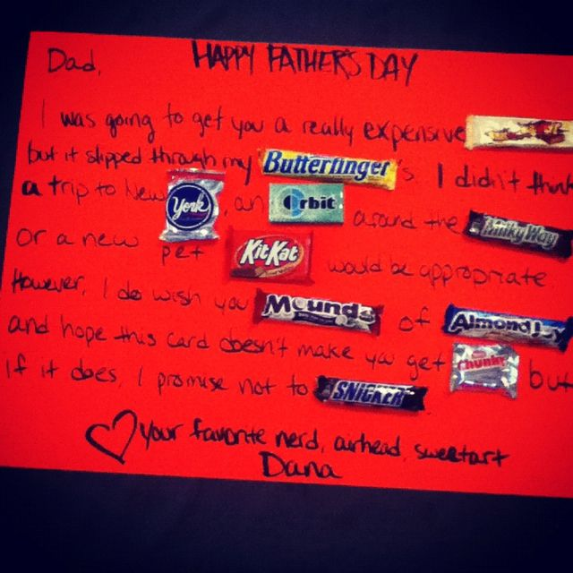 Sweet fathers day card candy candy candy craftybetchmode sweet fathers day card candy candy candy ccuart Image collections
