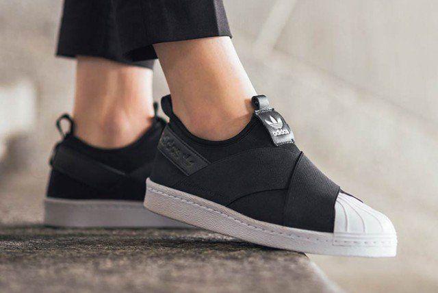 Adidas superstar scivolare su così versatile e anca!lo stile mi piace