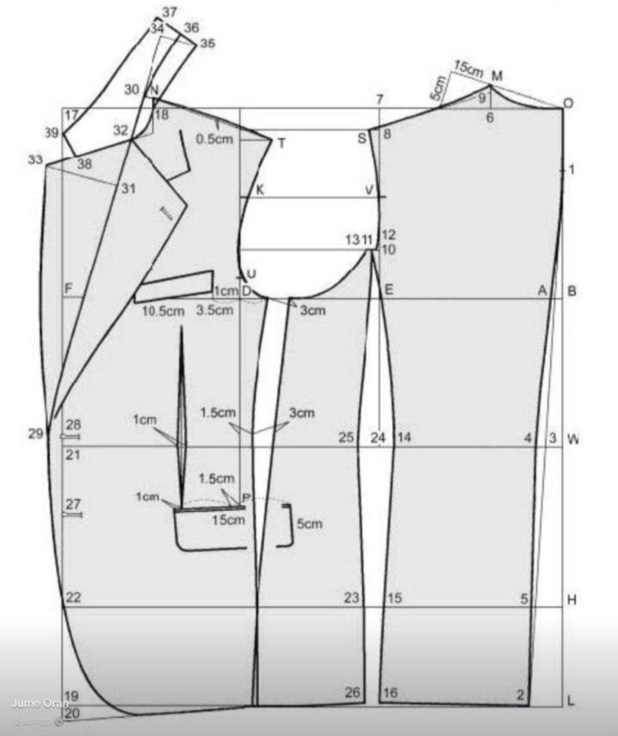 Pin de carmen canal en Puntadas y costura | Pinterest | Patrones ...