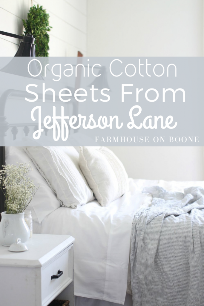 Organic cotton sheets from jefferson lane home farmhouse on boone also rh pinterest