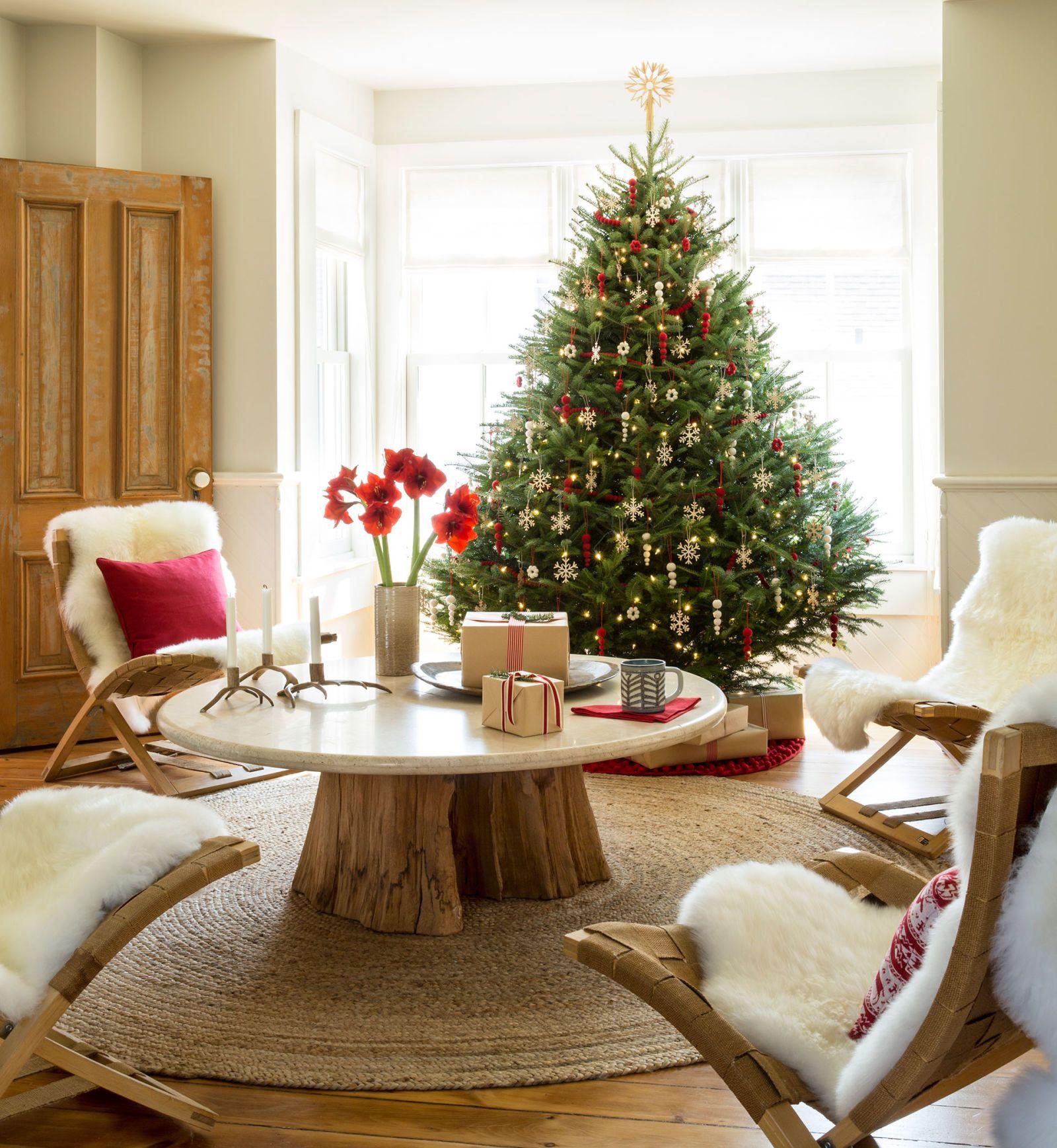 christmas tree decorating ideas - 736×799