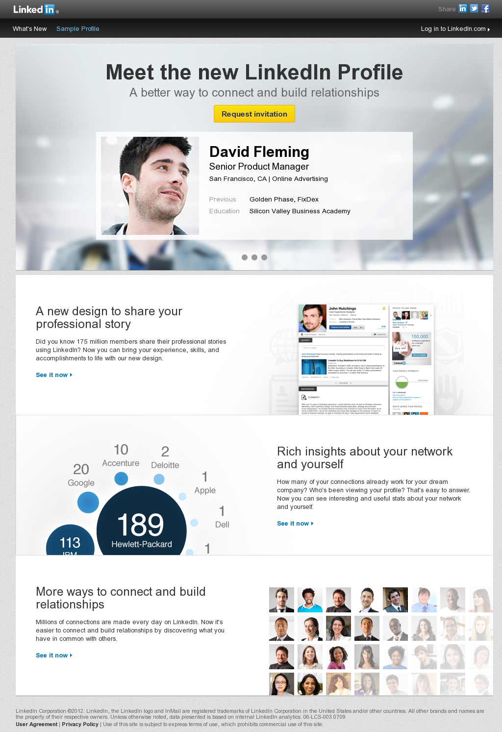 The New Linkedin Profile Linkedin Business Linkedin Help