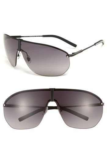9474853132f Gucci Shield Sunglasses available at Nordstrom