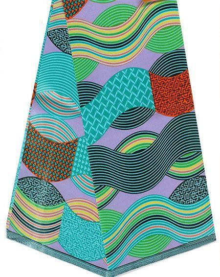 Java Wax Print Fabric Per Yard 36x45 Inch African