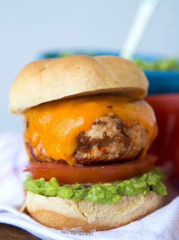 hamburger signature au guacamole - 600×803