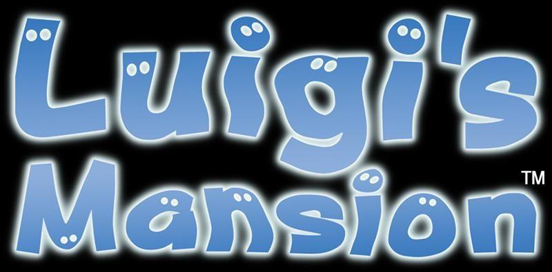 Logo From The Official Artwork Set For Luigismansion On The Gamecube Luigi Mario Visit For More Info Http Www Superluigibros Com Luigis Mansion Ga Luigi