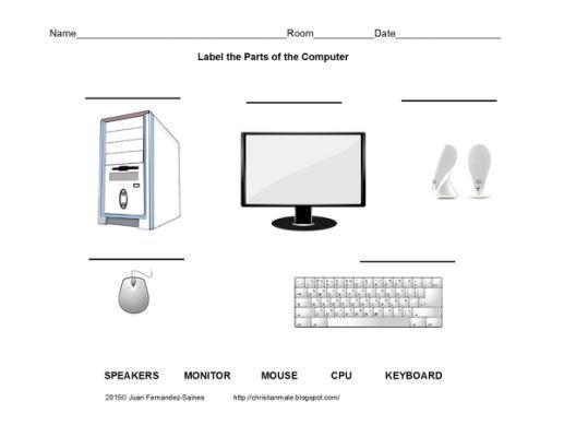 Printable Computer Worksheets For Kindergarten Worksheets Kindergarten Worksheets Printable Worksheets