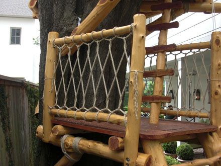 Best Rope Railings Coastal Living Rooms Rope Railing Tree House 400 x 300