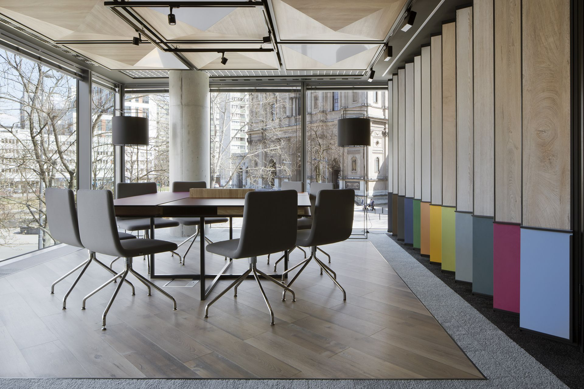 Kronospan Design Center In Warsaw Poland The Ideal Place For