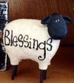 Love this little resin Sheep... Sooo cute!