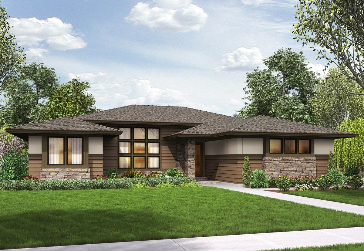 Plan 69603am 3 bed modern prairie ranch house plan for Modern prairie style homes