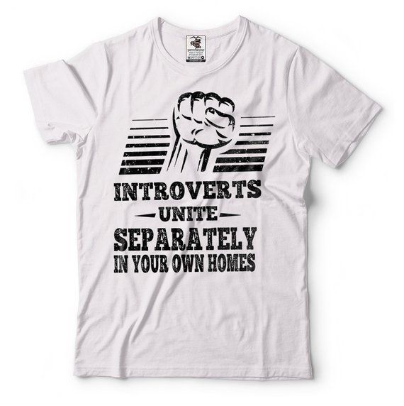 Introvert Funny T-shirt Gift For Introvert Tee Shirt   Etsy