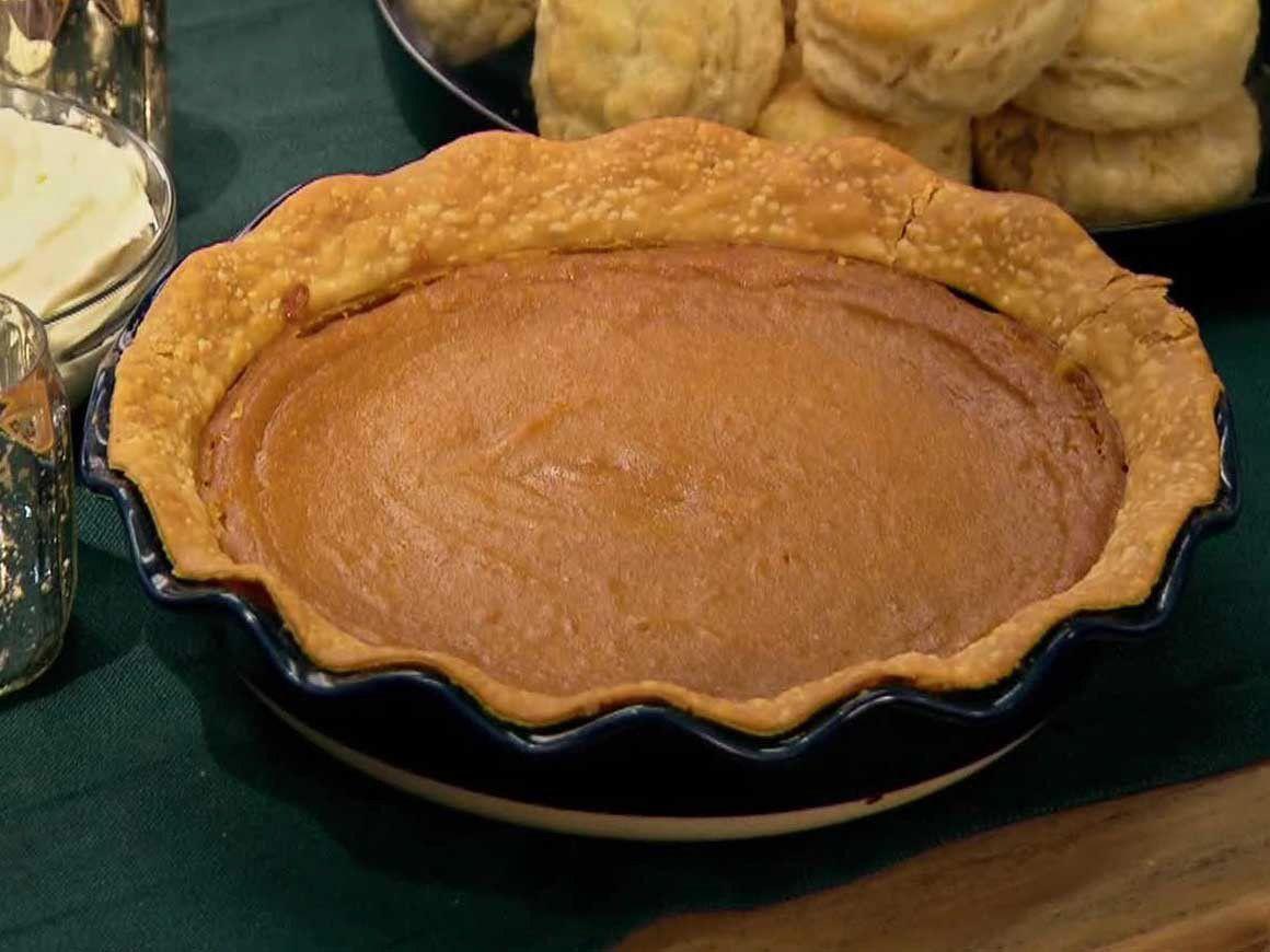 Sweet Potato Rum Pie