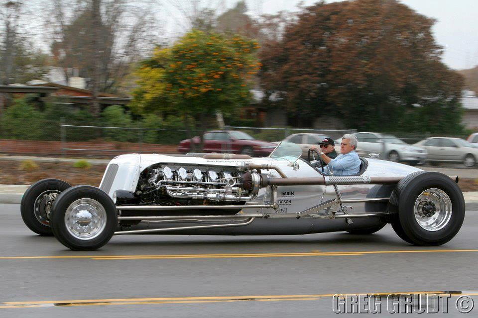 Jay Leno Car: 1953 Chrysler Roadster With M47