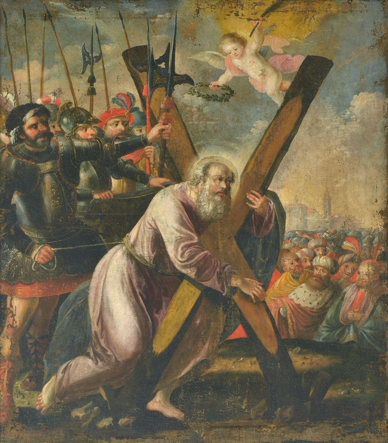 Stephan Kessler - The Martyrdom of Saint Andrew (17th