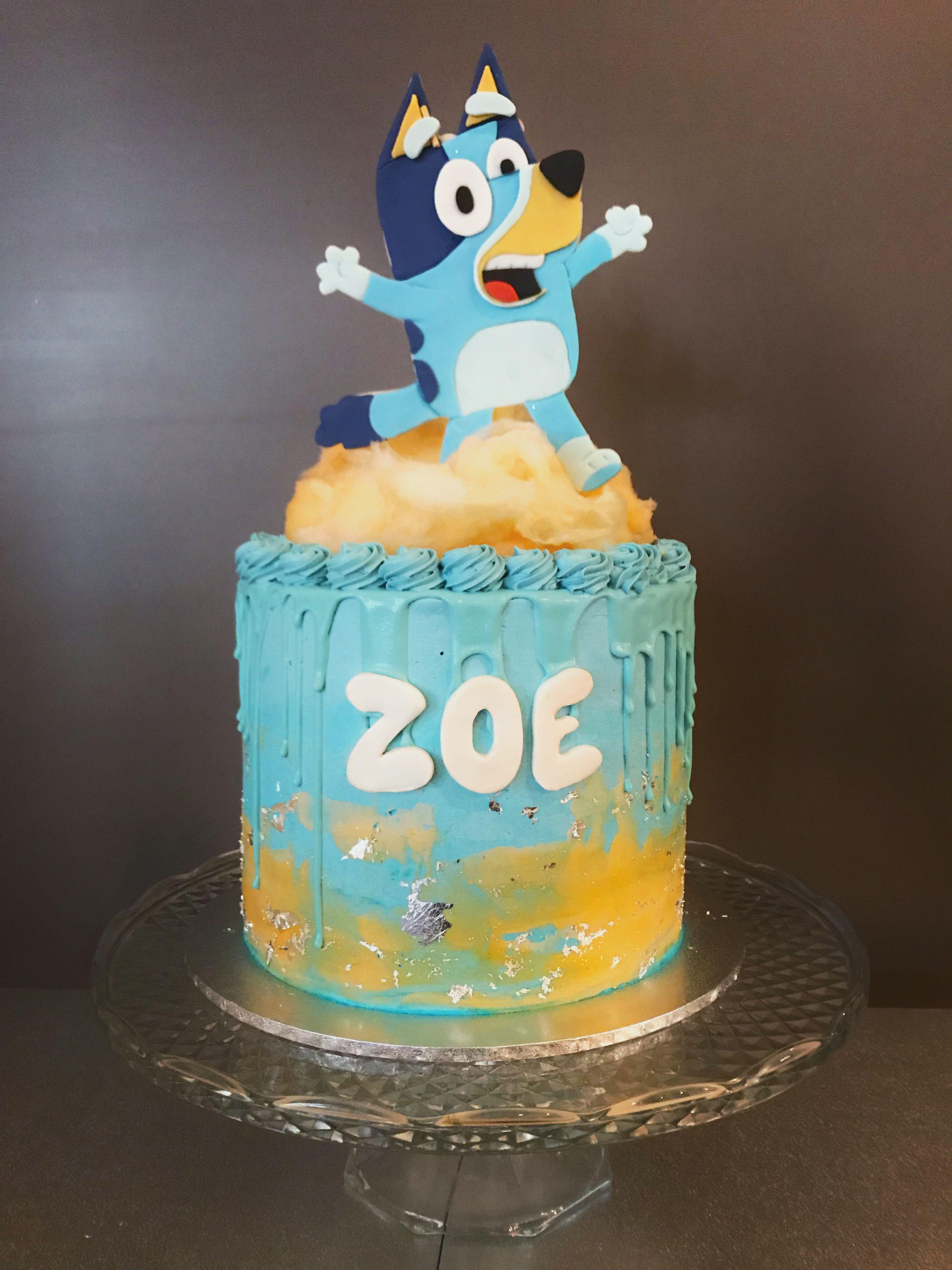 13++ Bluey birthday cake recipe inspirations