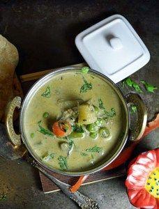 Parotta Stall style Vegetable Kurma recipe