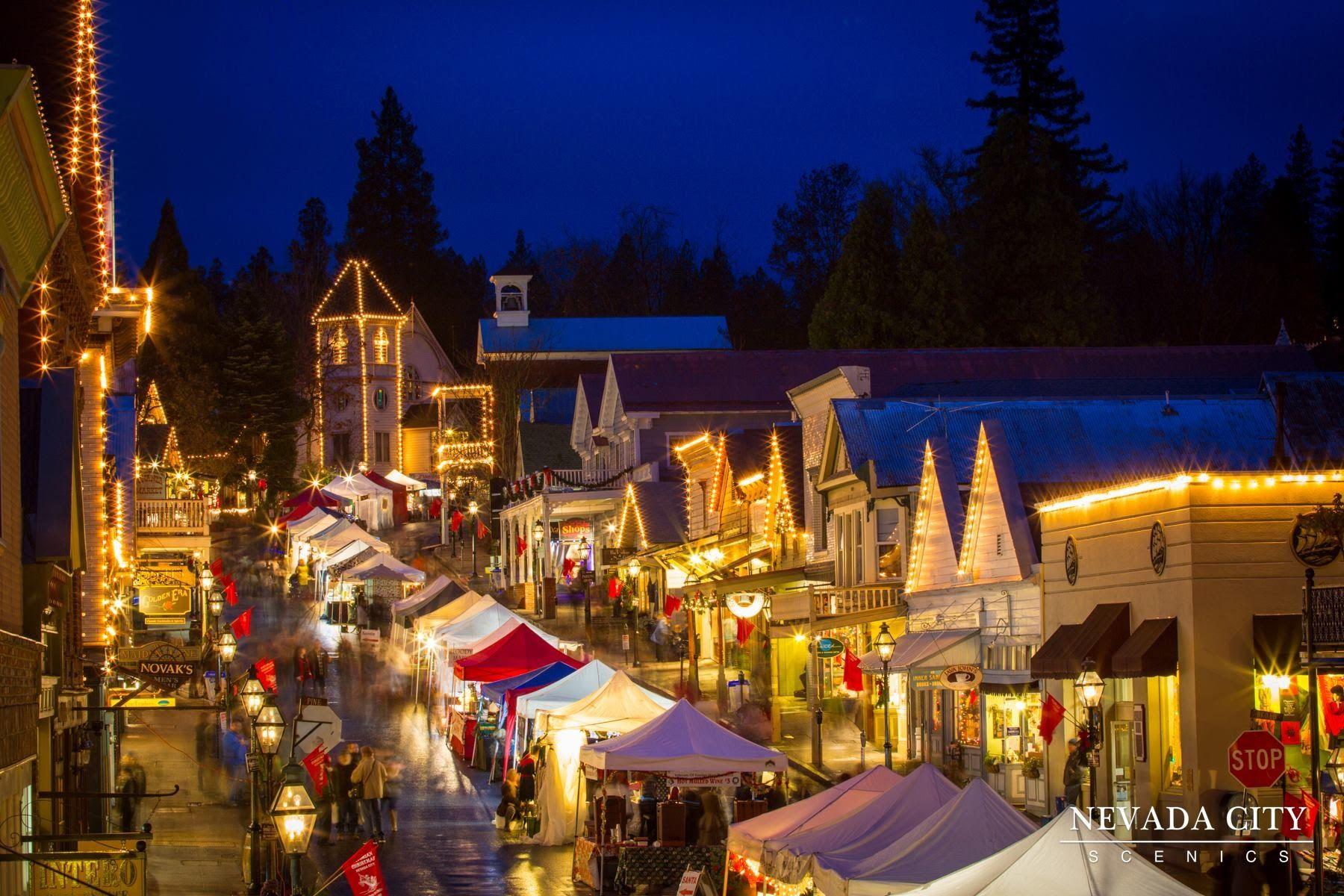 Victorian Christmas Downtown Nevada City Ca Dec 2015 Nevada City Nevada City California Victorian Christmas