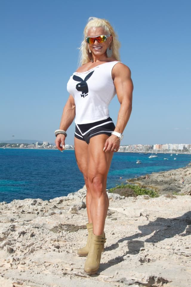 Fanny Palou | MUSCLE GODDESSES - Thank God For Steroids
