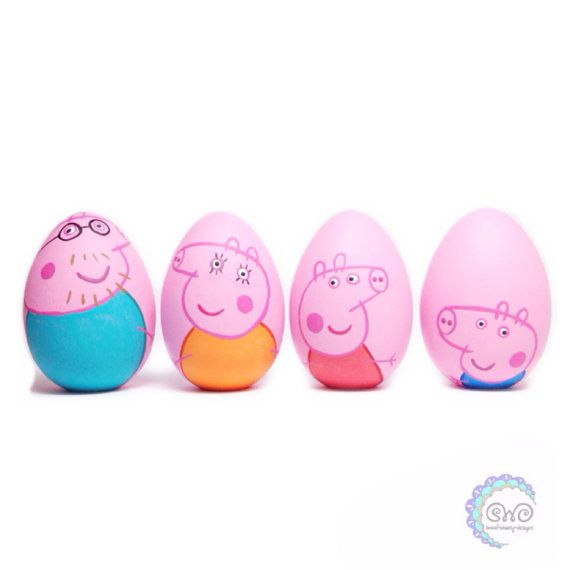 the tv collection: peppa pig pegg doll set by thewhimsicalsweet