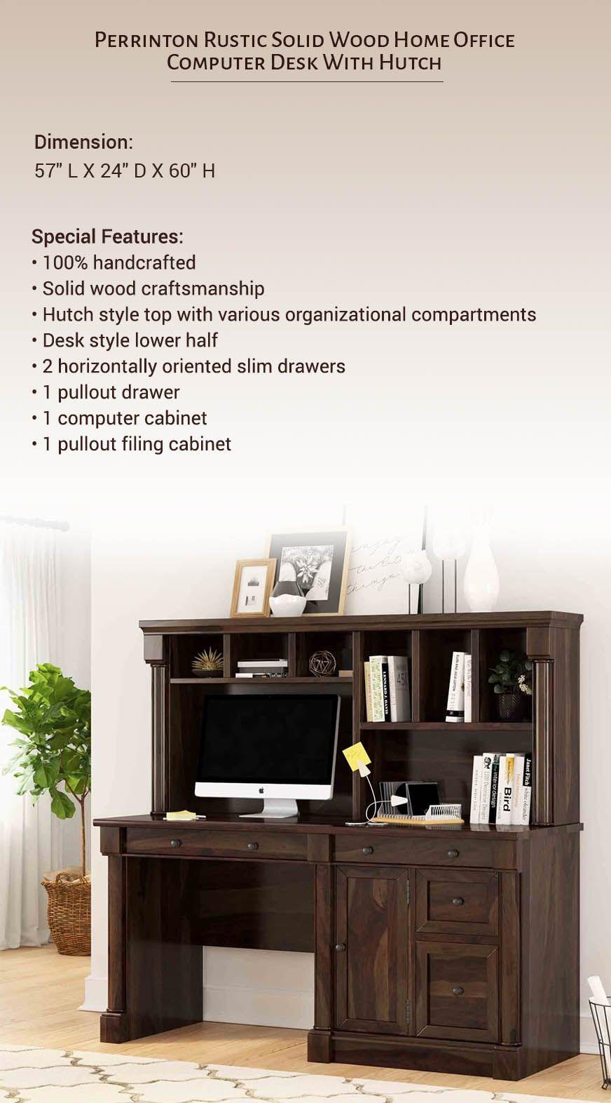 Pin On Solid Wood Desks Sierralivingconcepts