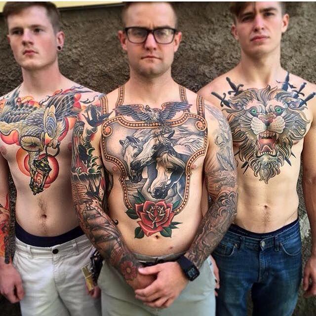 Man tattoo intim Tattoo Pain