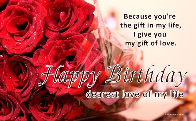 Happy Birthday Wishes To My Love Birthday Wishes For Myself