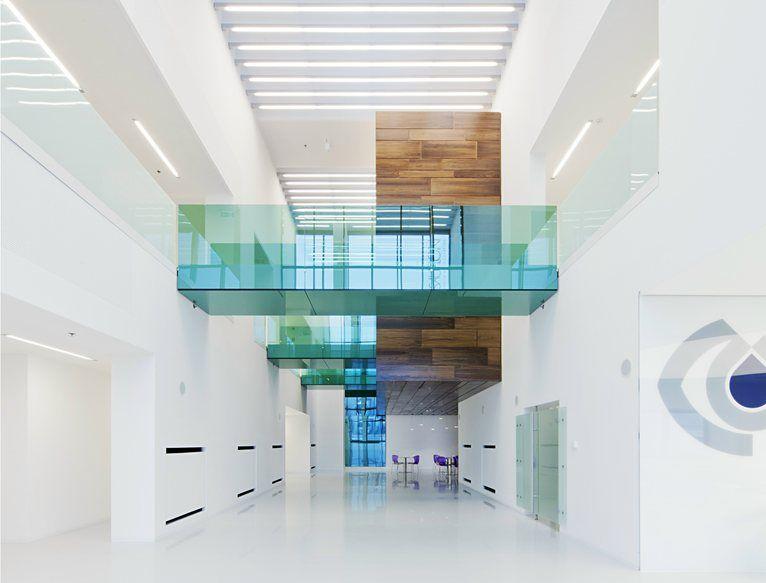Sauflon Centre of Innovation - Innovation Centre attached to Sauflon contact lens factory - Gyál, Hungary - 2013 - Foldes Architects