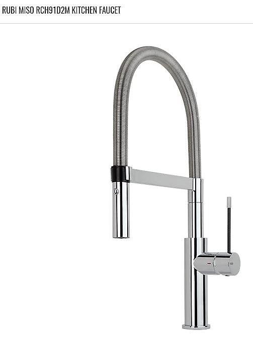 RUBI- MISO (RCH91D2M) Single hole professional style kitchen faucet ...