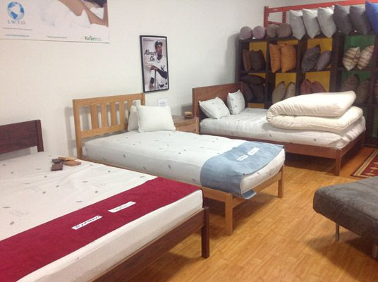 Dapwood Natural Bed Frames The Futon Shop Los Angeles 10865 W