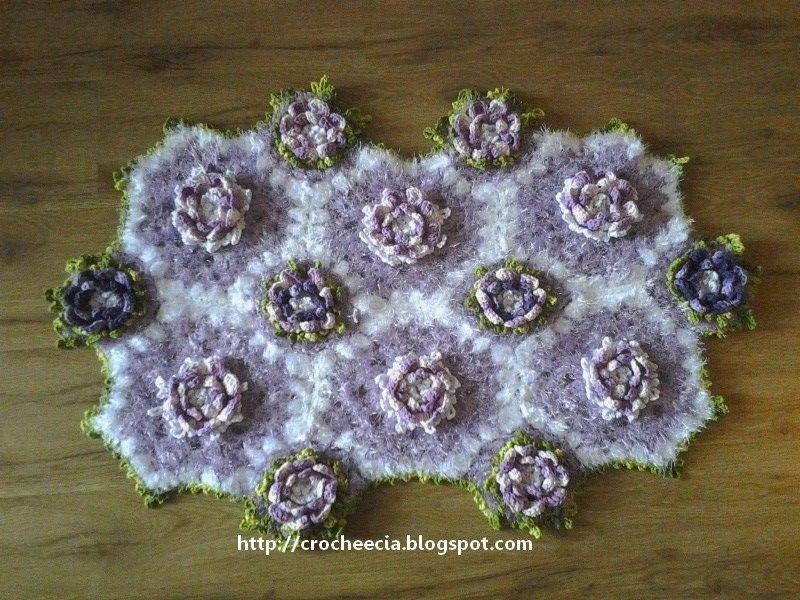 Croche e Cia: Novos trabalhos