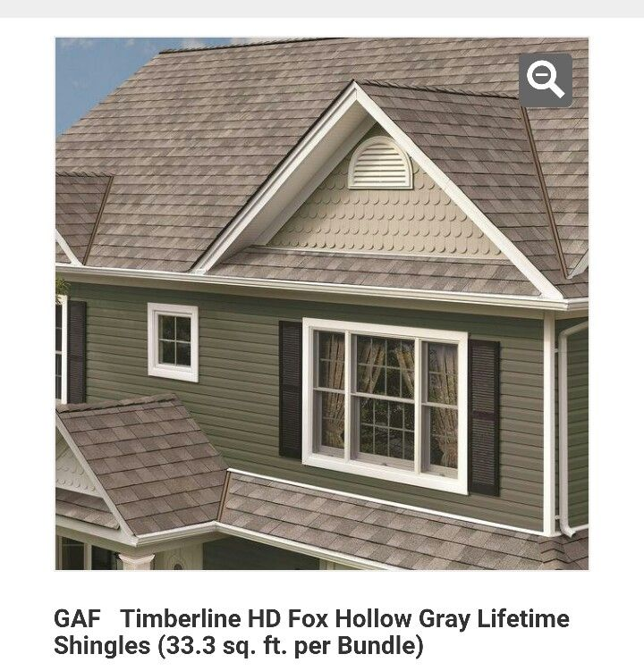 Gaf Timberline Fox Hollow Gray Roofing Architectural