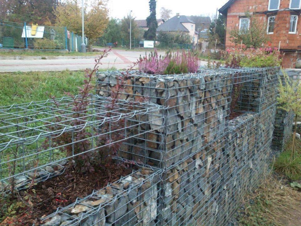 Gard gabion gabion pinterest gabion wall and for Gabion landscaping