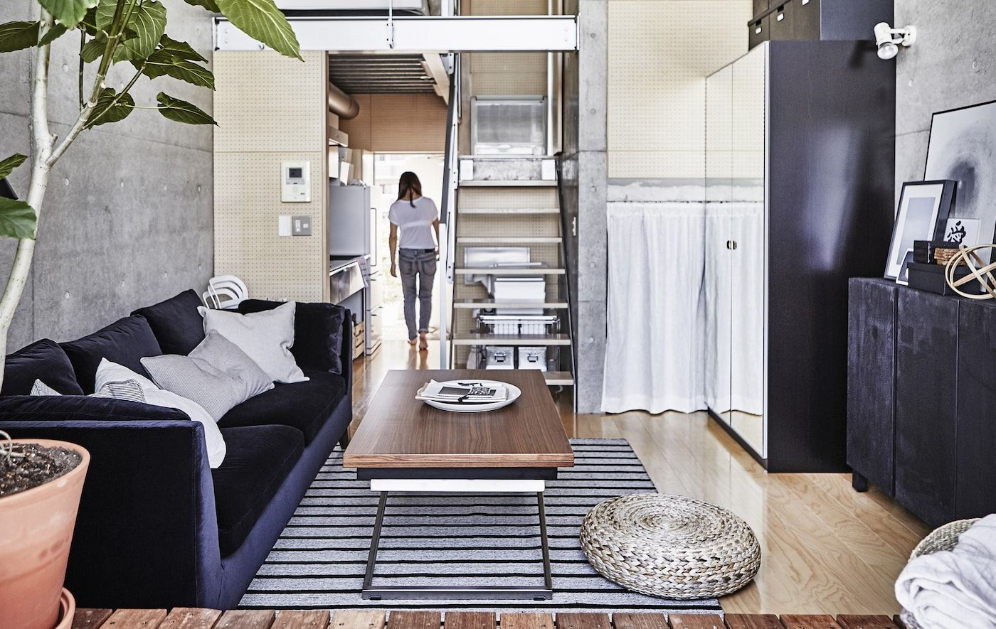 A tour of a 25m2 urban apartment in Japan | Ikea Ideas in ...