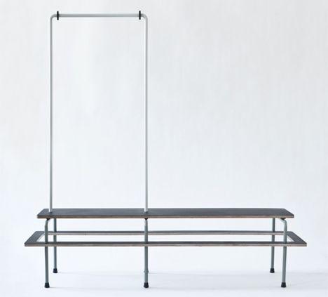Wardrobe Bench by Stephan Schulz
