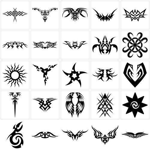 african tribal symbols | tribal tattoo symbols design | Ink ...