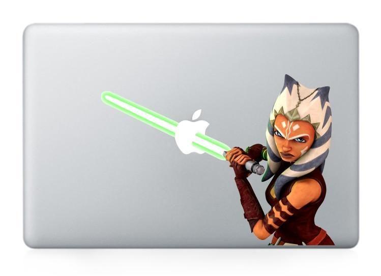 Star Wars Ahsoka Tano decal skin for MacBook Pro and