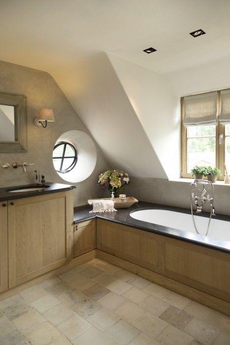 Badkamer landelijke stijl   Bathroom   Pinterest - Landelijke ...