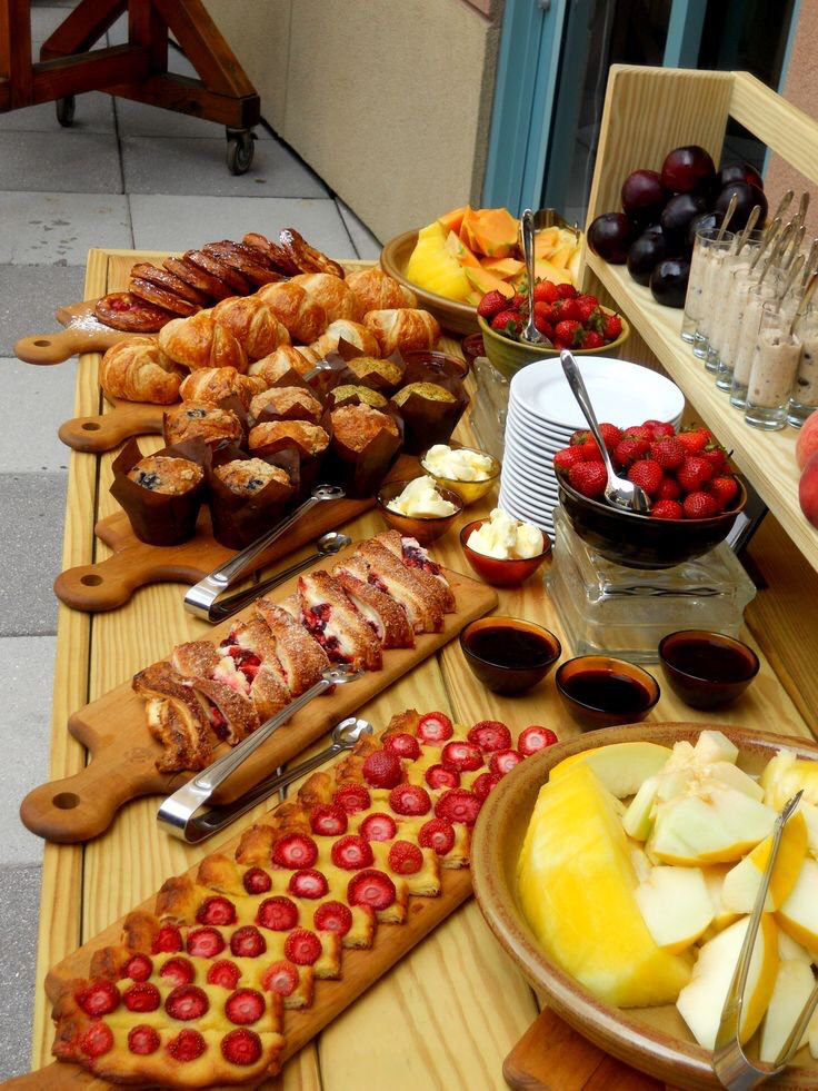 Pin By Sol Fridman On Ble Eventos Brunch Buffet Breakfast Party