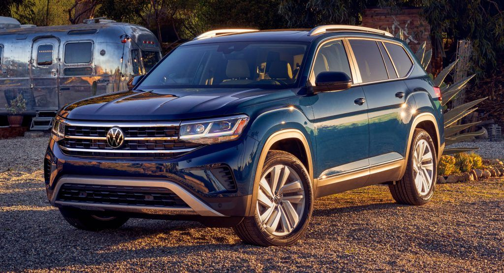 2021 Vw Atlas Refreshed With Bolder Design Cues And More Technology Following The Reveal Of The Atlas Cross Sport Vw Is Refreshin In 2020 Volkswagen Vw For Sale Awd