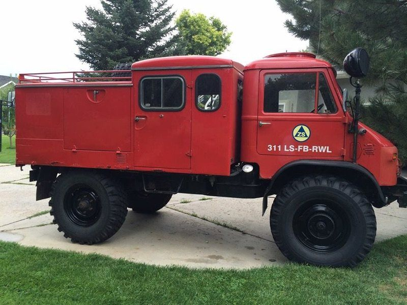 1963 Mercedes Benz Unimog For Sale in Cottonwood heights